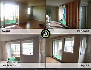Renovation Maison Avant Apres Travaux : avant apres renovation interieur maison ~ Zukunftsfamilie.com Idées de Décoration