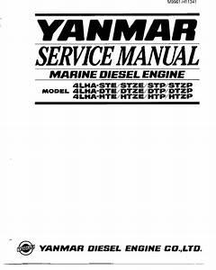 Yanmar Marine Diesel Engine 4lha Series Pdf Manual