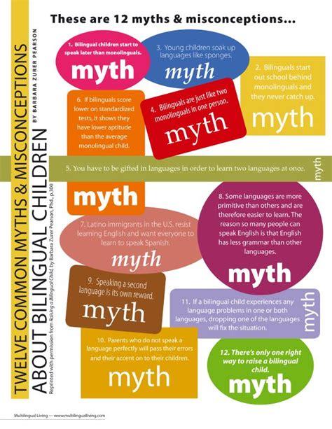 multilingualism myths raising bilingual children