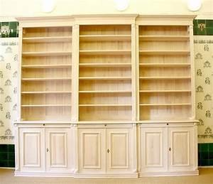 Regal Hochglanz Weiß Mit Türen : b cherregal wei massivholz mit t ren 270x300x45cm ebay ~ Bigdaddyawards.com Haus und Dekorationen