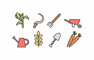 Agriculture doodle icon set - Download Free Vector Art ...
