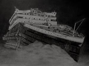April 15 1912 Titanic At The Bottom By Vadil97 On