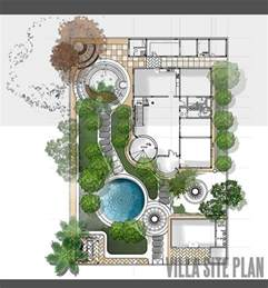 architectural site plan villa site plan design landscape architecture design villas and site plans