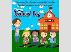 To The Most Wonderful Teacher Free Teachers' Day eCards