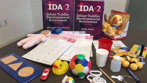 ida  infant toddler developmental assessment kit