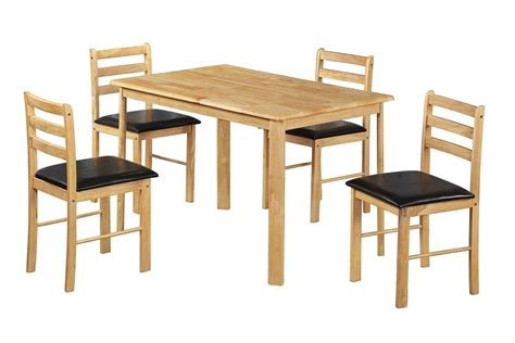 wooden chairs for dining table wooden dining table and 4 chairs homegenies