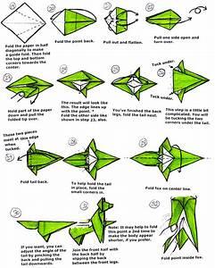 3d Origami Fox Instructions
