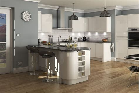 Kitchen Floor Units by Welford Bright White Luca Gloss White Kitchens Buy