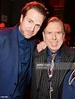 Rafe Spall and Timothy Spall attend an after party ...