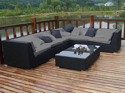 canape angle jardin salon jardin quot maldives quot canapé d 39 angle table basse 51893
