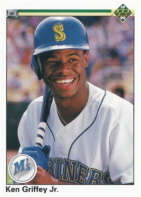 junior junkie  baseball cards  ken griffey jr