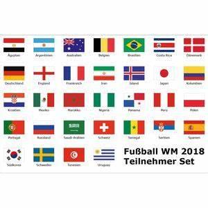 Wm 2018 Flaggen : flaggen zur wm 2018 in russland ~ Kayakingforconservation.com Haus und Dekorationen