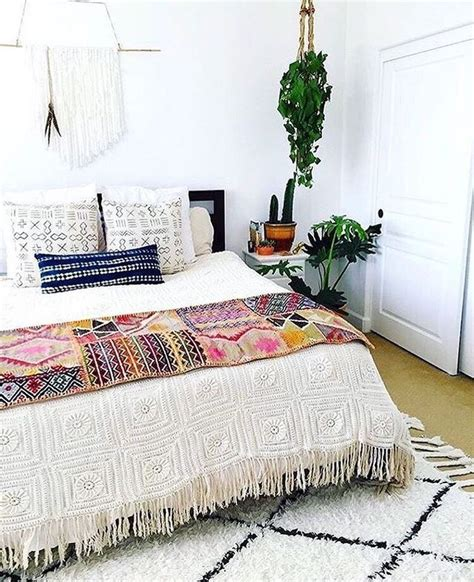 modern bohemian bedrooms ideas  pinterest
