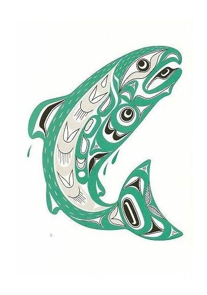 Salish Coast Wilson Joe Salmon Native Artist