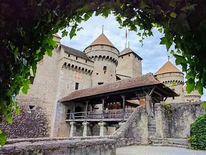 Castle 4k Chillon Switzerland Wallpapers Phone Desktop