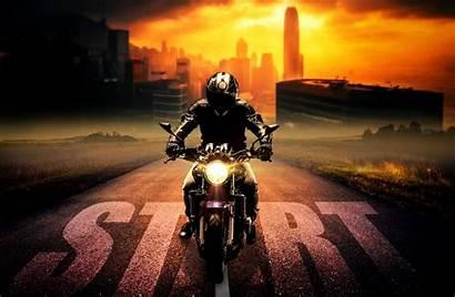 Riders Face Harley Helmets Motorcycle Bikes
