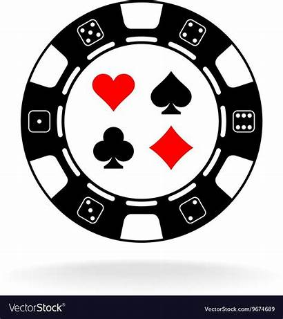 Casino Poker Chip Card Suits Chips Gambling