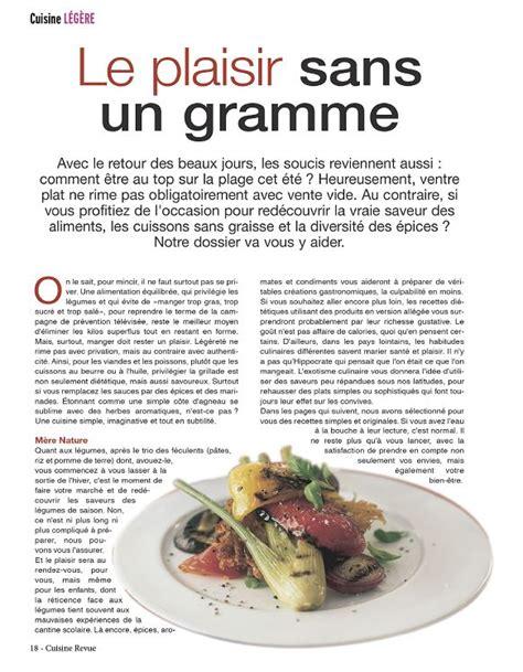 revue cuisine cuisine revue recettes pratique cuisine loisirs
