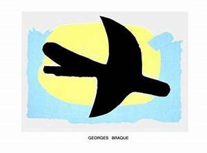 Oiseau Jaune Et Bleu : oiseau bleu et jaune art print by georges braque ~ Melissatoandfro.com Idées de Décoration