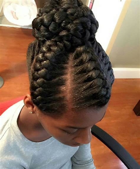 updo braid hairstyles for black women hairstyle for