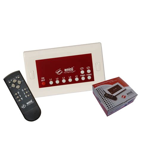 remote control switches for lights and fans buy aminij wireless remote control switch for 5 lights and