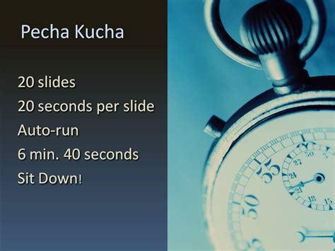Pecha Kucha Powerpoint Template by 301 Moved Permanently