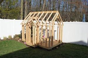 Building My Kids' Playhouse #5: Framed the Roof - by Andy ...