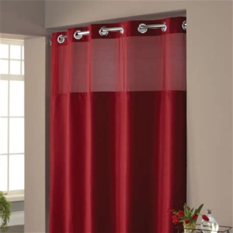 hookless waffle fabric shower curtain bed bath