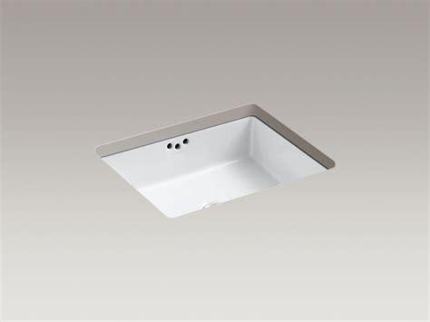 kohler square vanity sink rectangular undermount bathroom sink gallery of decolav