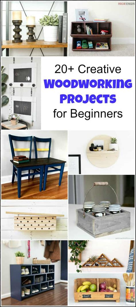 creative beginner woodworking projects   serial diyer