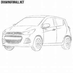 How to Draw a Chevrolet Spark Drawingforall net