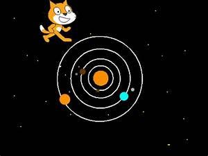 Geocentric Model & Solar system on Scratch