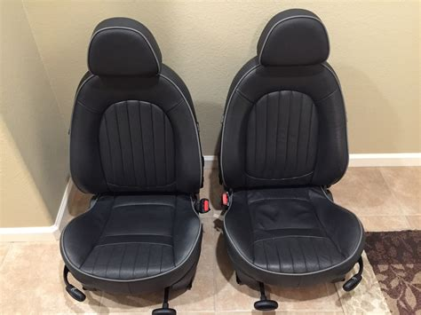 fs black english panther leather seats set north