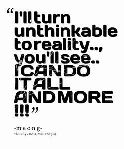 Unthinkable Quotes. QuotesGram