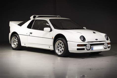 Ford Rally Car by Auction Block 1986 Ford Rs200 Rally Car Hiconsumption