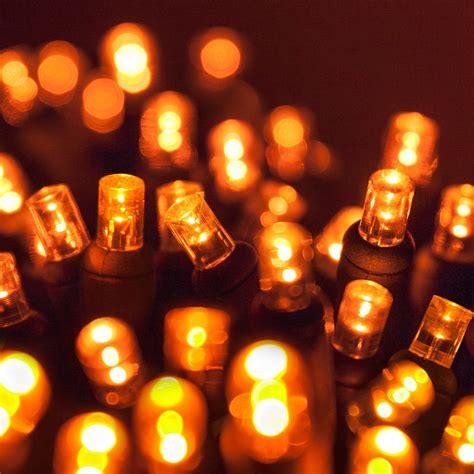 amber christmas lights 70 5mm led lights