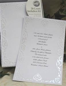 Wedding invitation wording wilton wedding invitation kit for Wilton wedding invitation kit template