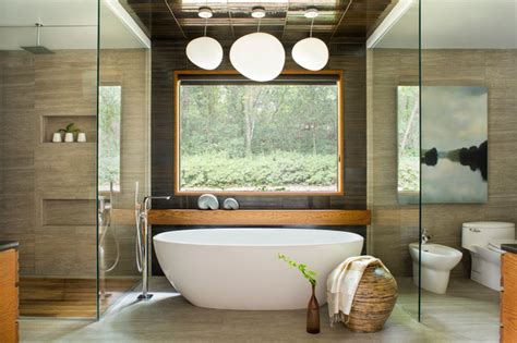 tranquil asian bathroom interiors designed  relaxation