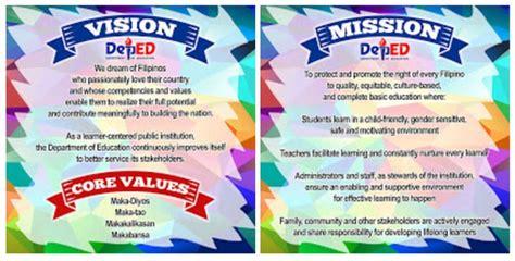 mission vision core values tarp designs deped mission