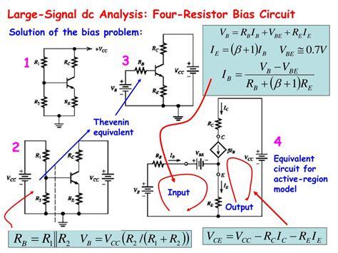 Ppt Bipolar Junction Transistor Circuit Analysis