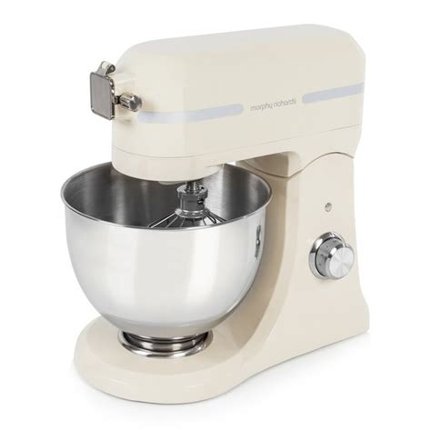 morphy richards kitchen accessories morphy richards 400009 professional diecast stand mixer 7854