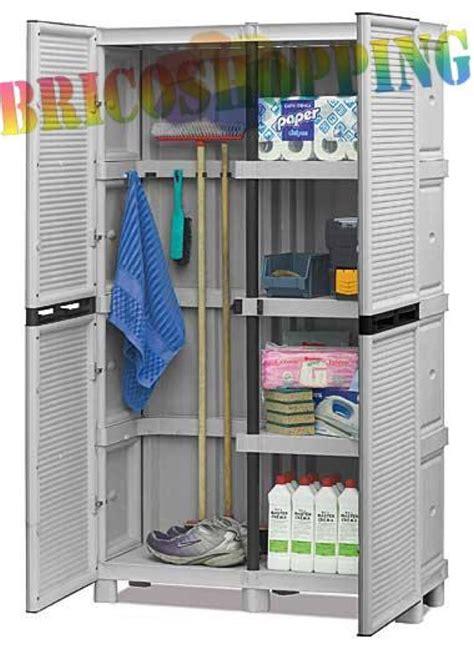armadietti in pvc armadio resina portascope il pi 249 forte pvc esterno