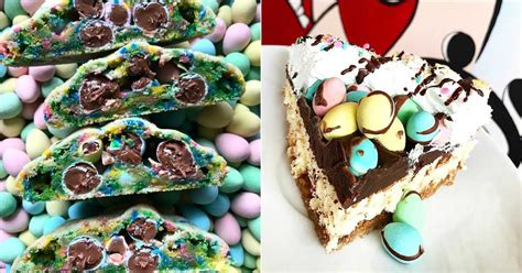 Best easter egg desserts from egg meringues with tangerine curd. 19 Mini Egg Desserts You Need To Try This Spring In ...