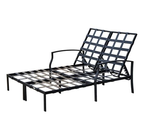 adjustable outdoor patio chaise lounge cushioned