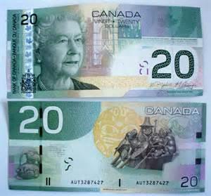 Canadian Money 20