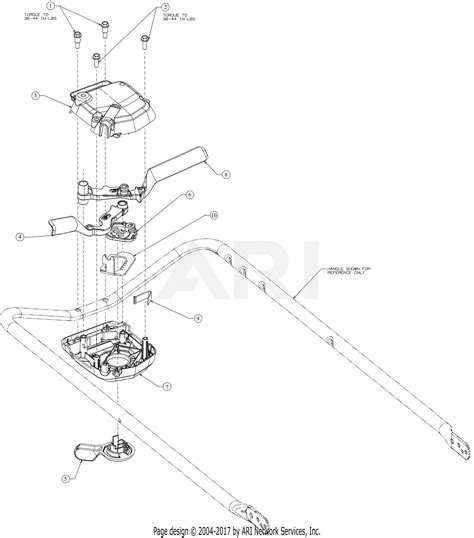 troy bilt akca tb   parts diagram  drive control housing