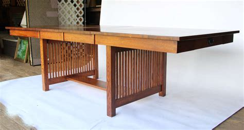 mission style desk for sale 10 foot mission style dining table for sale at 1stdibs