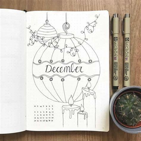 schriftarten selbst erstellen weihnachts thematische kugelzeitschriftideen handschrift journal tagebuch ideen und