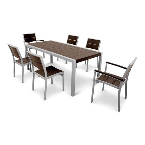 city furniture patio dining sets trex outdoor furniture surf city textured silver 7