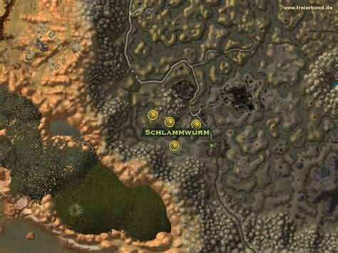 Schlammwurm  Monster  Map & Guide  Freier Bund World